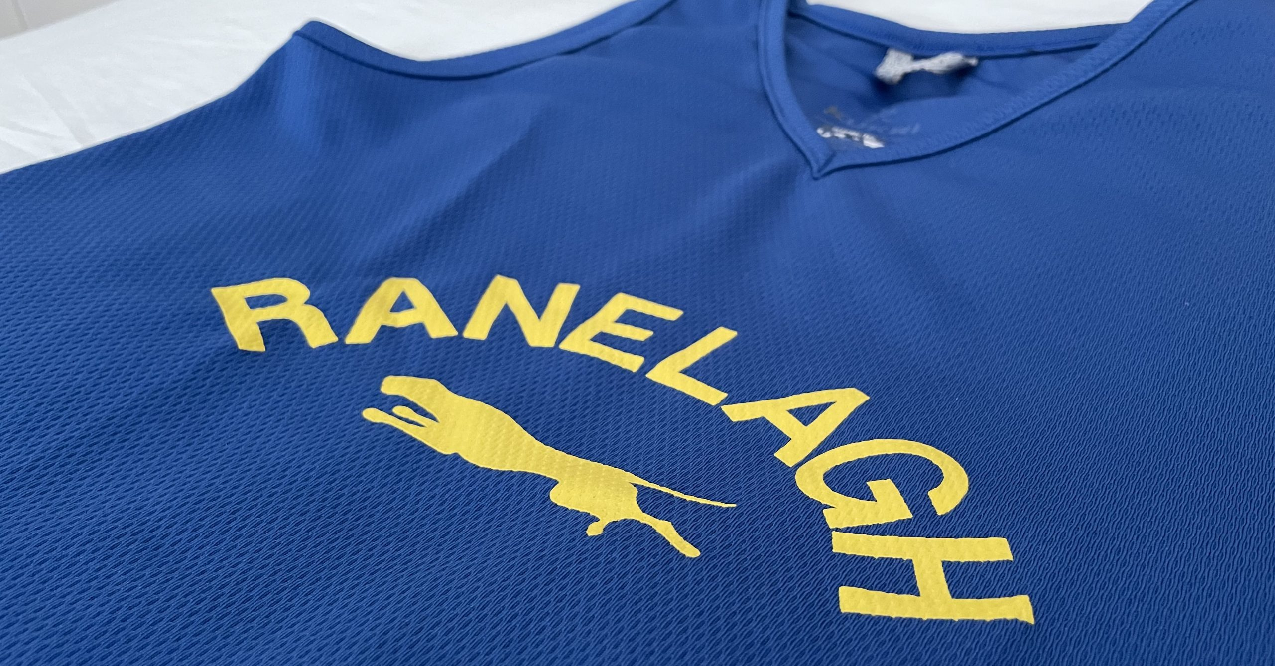 Ranelagh Harriers club vest